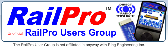RailPro User Group